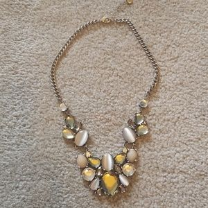 Loft statement necklace rhinestone necklace